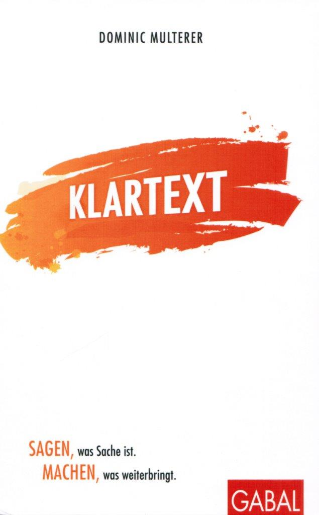 Dominic Multerer – Klartext