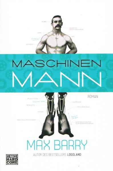 Max Barry – Maschinenmann